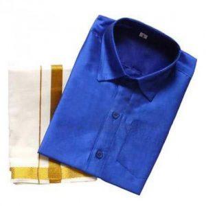 Kids Dhothi Shirt Sets