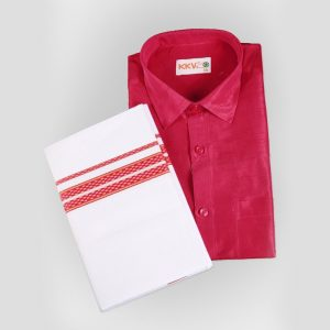 Kerala Mundu and Shirt