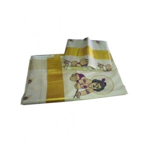 Designed Kerala Set Mundu