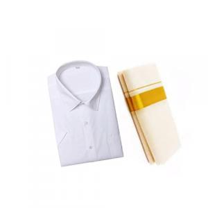 White Cotton Shirt & Golden or Silver Kasavu Mund
