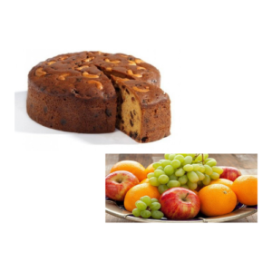 Plum Cake with 2 KG Mixed Fruits
