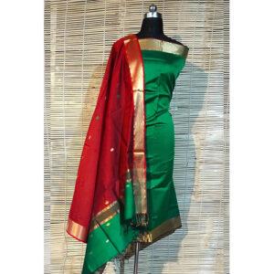 Maheshwari Handloom Dress Material